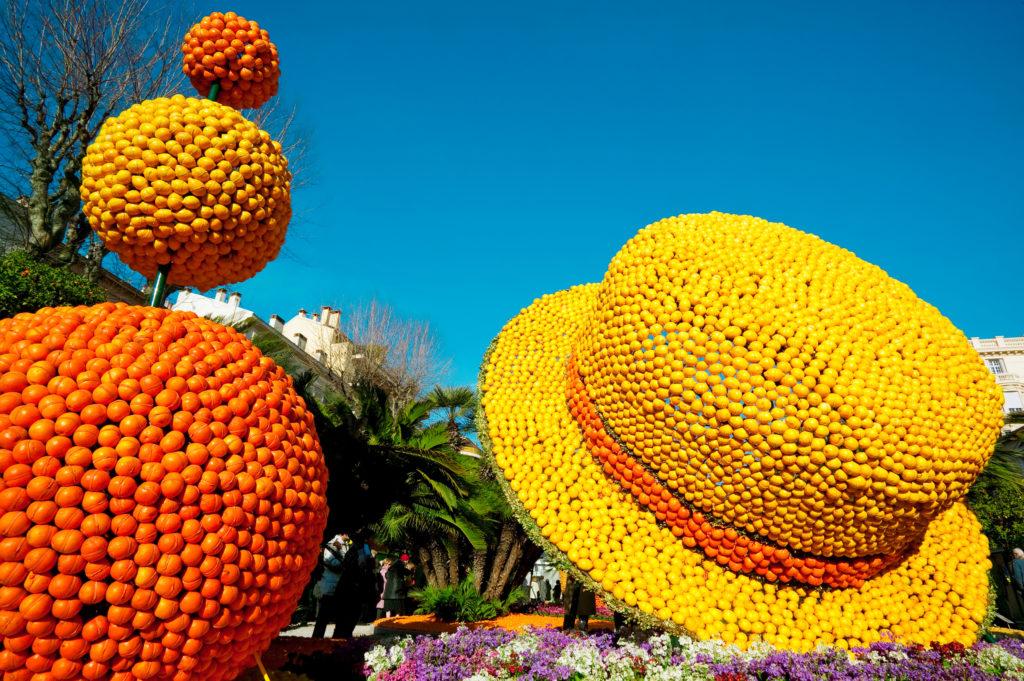 Festival du citron à Menton