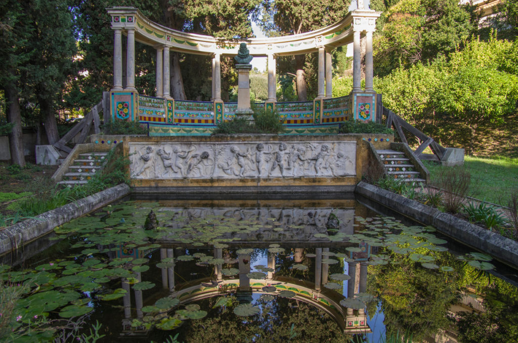 Jardin Fontana Rosa, Menton